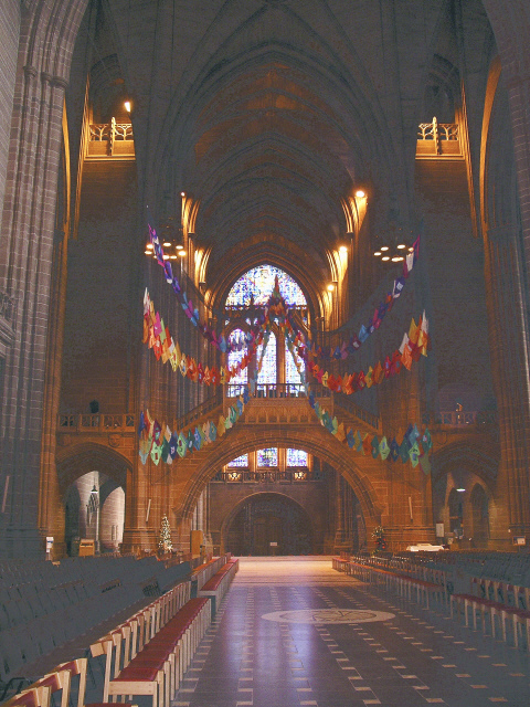 Liverpool Cathedral West End.