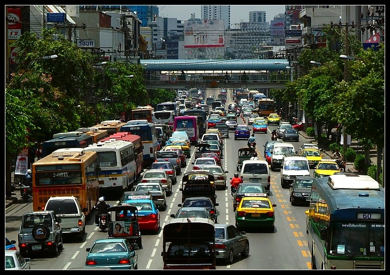 An ordinary day in Bangkok