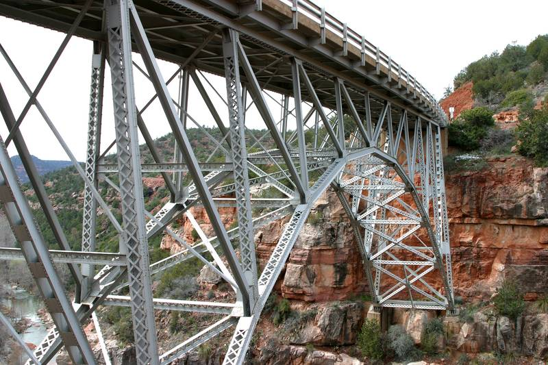 Bridging Oak Creek Canyon