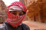 Bedouin boy in leather, Petra