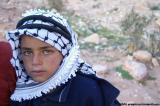 Bedouin boy with hazel eyes, Petra