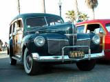 1941 Mercury Woodie, first year for Merc Woodie