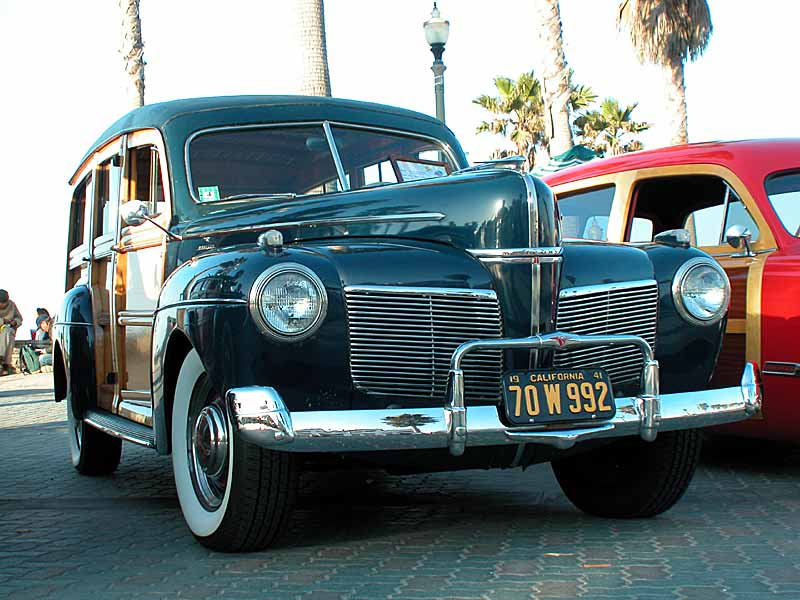 1941 Mercury Woodie, first year for Merc Woodie