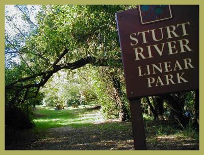 Sturt Linear Park.