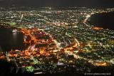 Last shot of Hakodate city.
