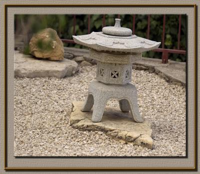 Japanese garden detail