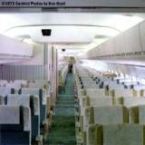 1973 - United DC8-61 N8086U cabin after cleaning