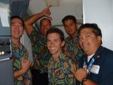 The Boyz from AQ473 LAS-OAK-OGG