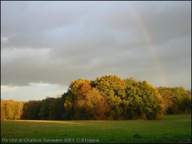 Du côté de Charleroi. Novembre 2004.