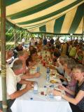 lunch under the big tent