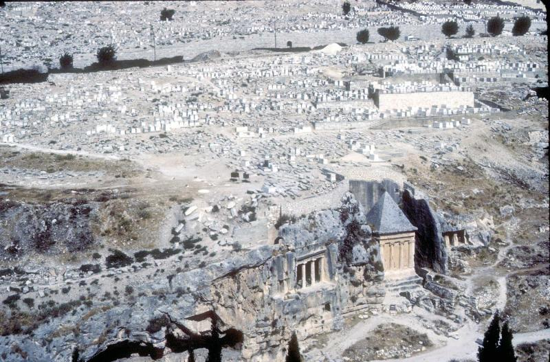 Valley of Jehoshaphat - Cemetery on Slope of Mt Olivet