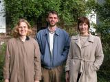 Jennifer, Hugues, and Elisabeth