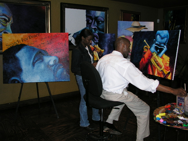Bernard Jackson - Painter