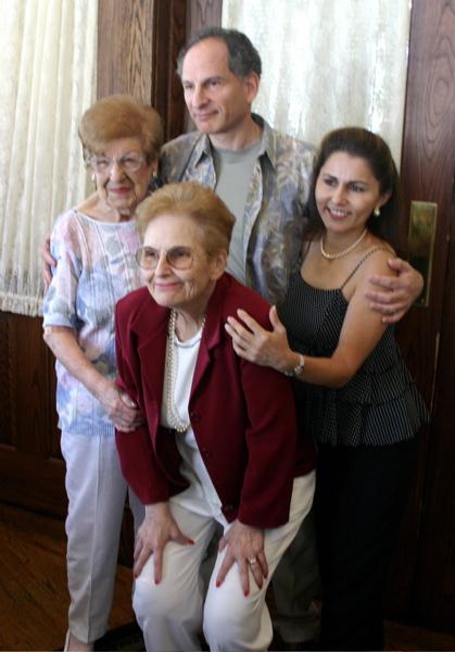 Min, Jean, Joel & Gloria