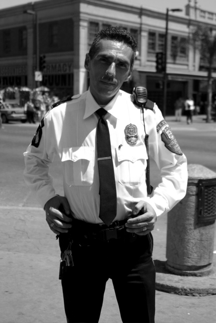 Tijuana Police Officer