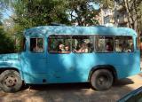 Little Blue School Bus