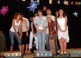 9th grade students entertain