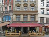 A restaurant serving traditional Latvian food