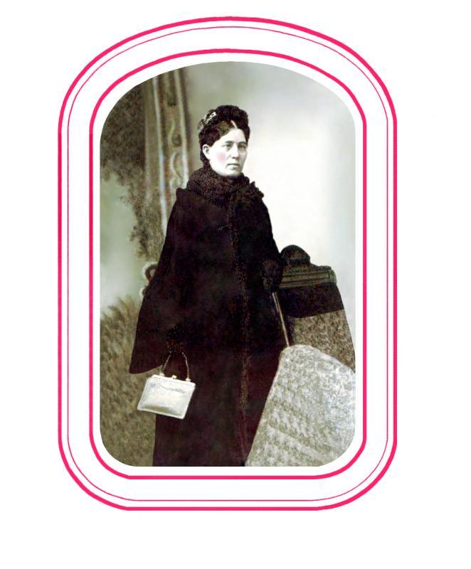 Isabella Johnston Graves in Winter (#25)
