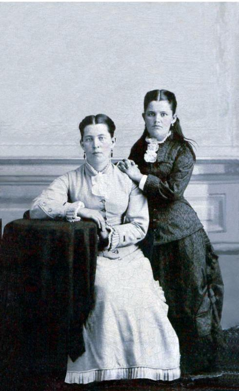 Isabella (Johnston) Graves and Daughter Jennie (#21)
