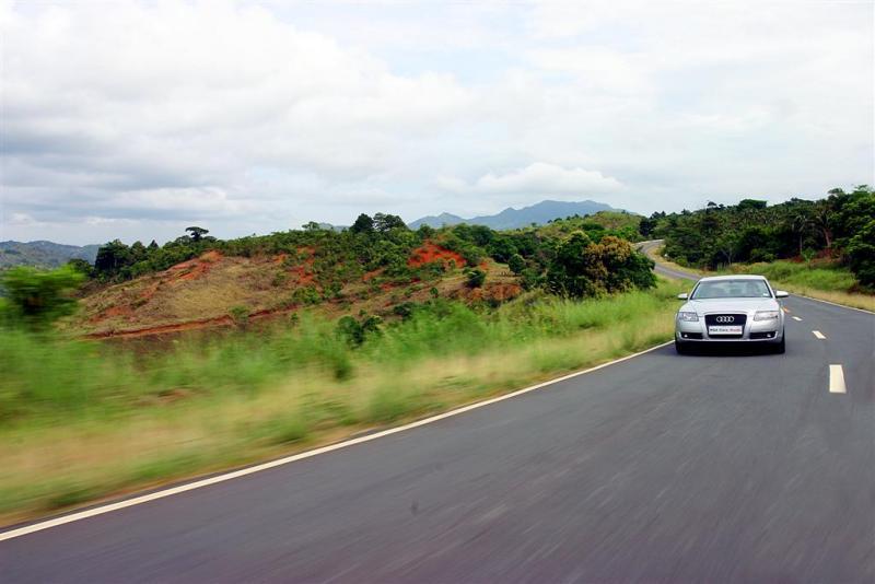 Audi A6 in Tanay, Rizal