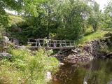 Bridge over Depot Creek at Rowley's Rapids