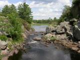 Rowley's Rapids on Depot Creek