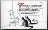 Cats (1975) (Inscribed with original drawing)
