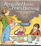 Keep The Home Fries Burning (1986) (signed with original drawing of Elly amidst smoke)