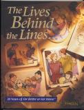 The Lives Behind The Lines (1999) (signed with original drawing of Elly and John)