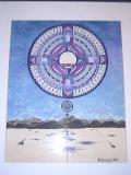 Kargil Mandala (watercolor, September 1999, 12 x 18)