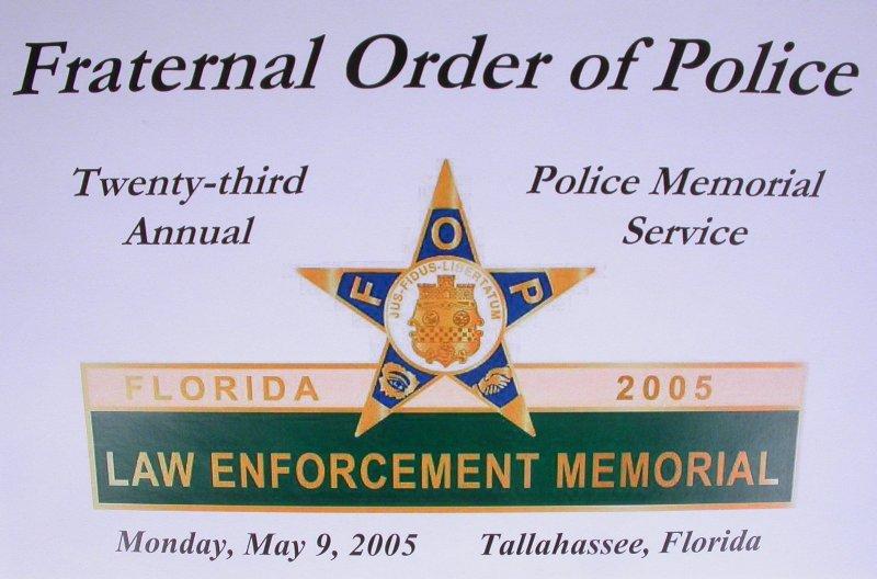 Law Enforcement Memorial Services Florida
