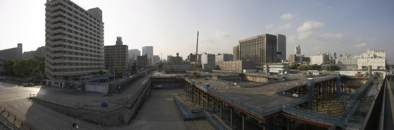 Kachidoki construction site