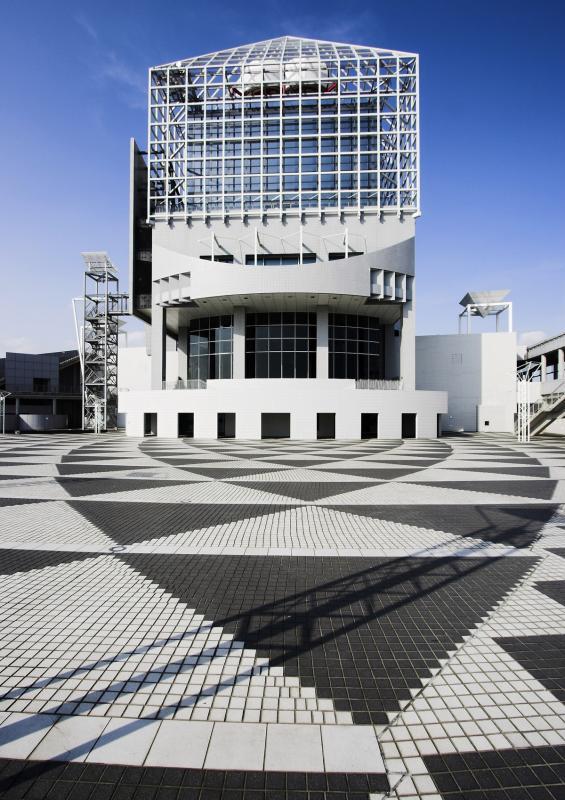 Passenger ship terminal facility at Harumi