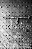 Fort Canning Hill Keep Door (IR B & W)