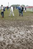 Aérodrome de Cerny après la pluie du samedi