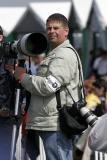 Rémy Michelin, équipé d'un maxi télé Canon monté sur un 20 D