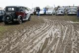 Aérodrome de Cerny après la pluie