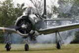 Avion d'entraînement T28 appelé Fennec