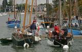 Les voiliers de travail à Port-Anna