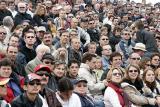 Spectateurs captivés
