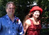 Linda and Tim Down the Aisle