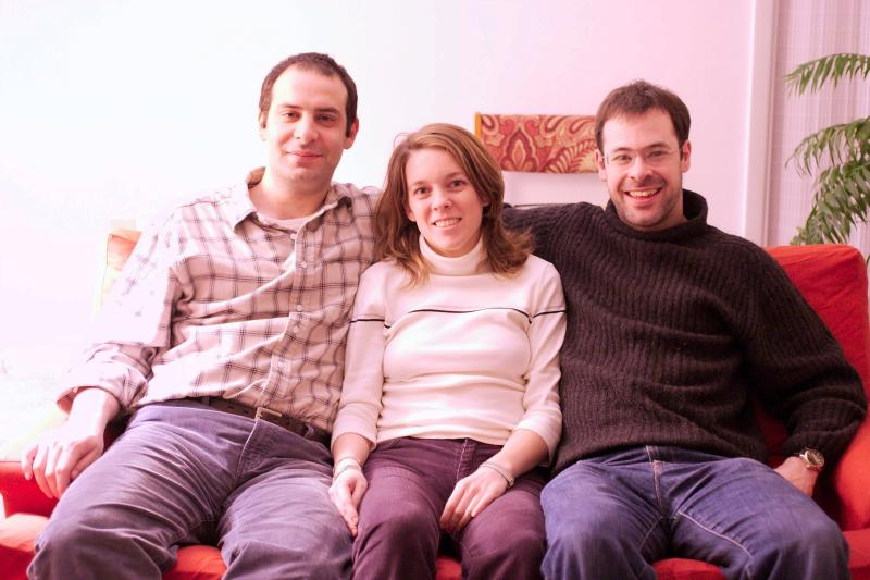 Omar, Cora and Damon