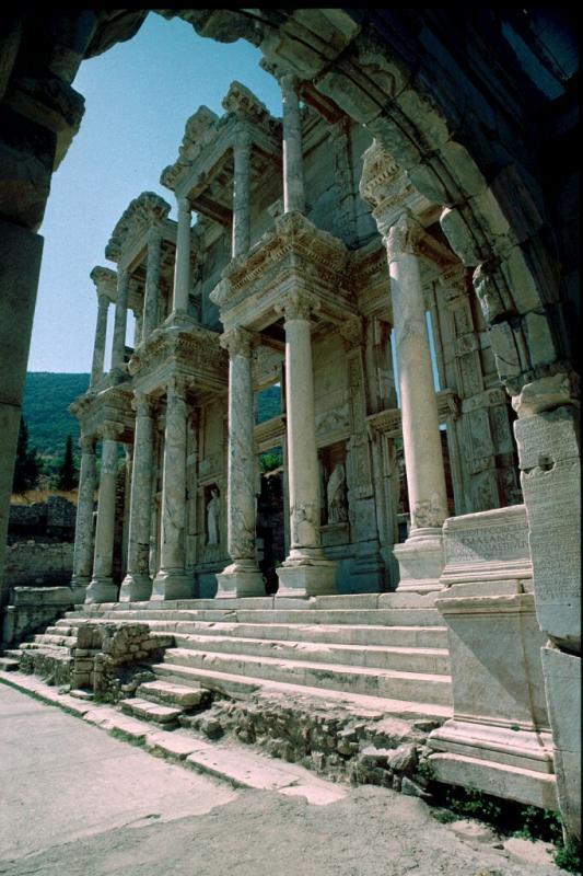 Efes Celsus library