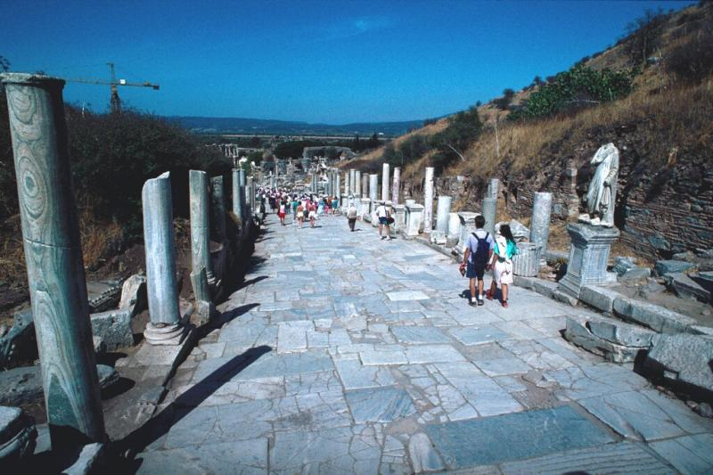 Efes tourists