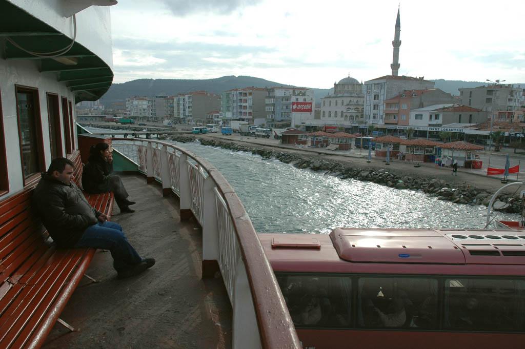 004-Çanakkale Eceabat ferry