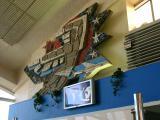 Old Plaque in Kiev Airport