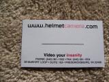 Helmet camera contact info
