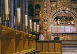 The altar at Liverpool's Anglican cathedral