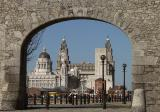 The Pier Head from the Albert Dock